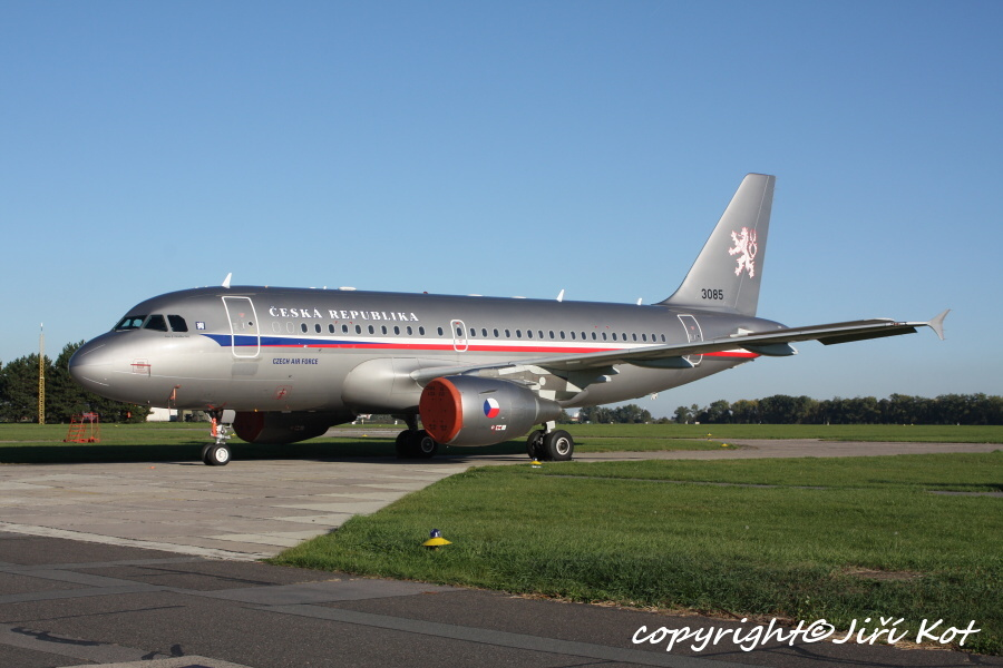 Czech Air Force Airbus319